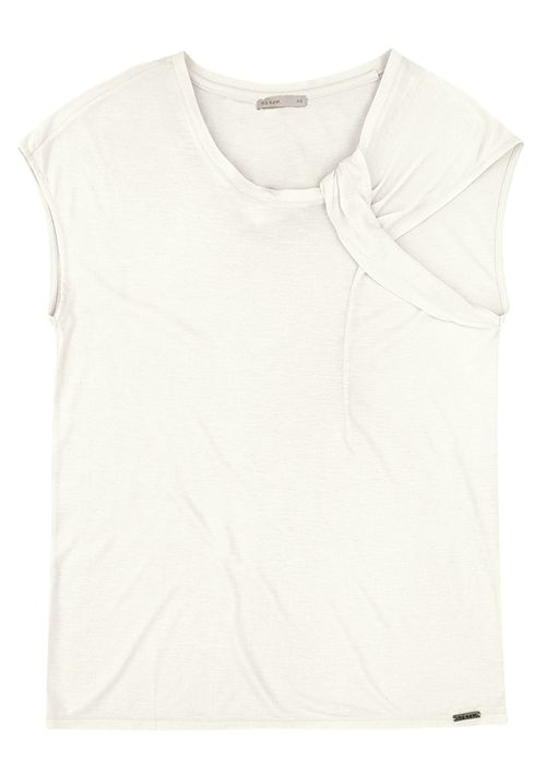 Regata Com Detalhe No Ombro - Off White