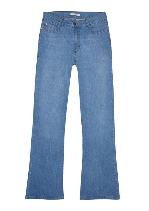 Calça Jeans Boot Cut Petit - Azul