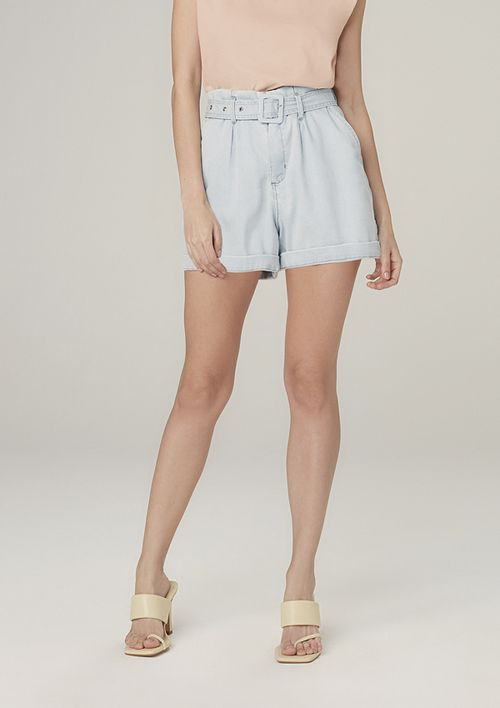 Shorts Clochard Jeans - Azul