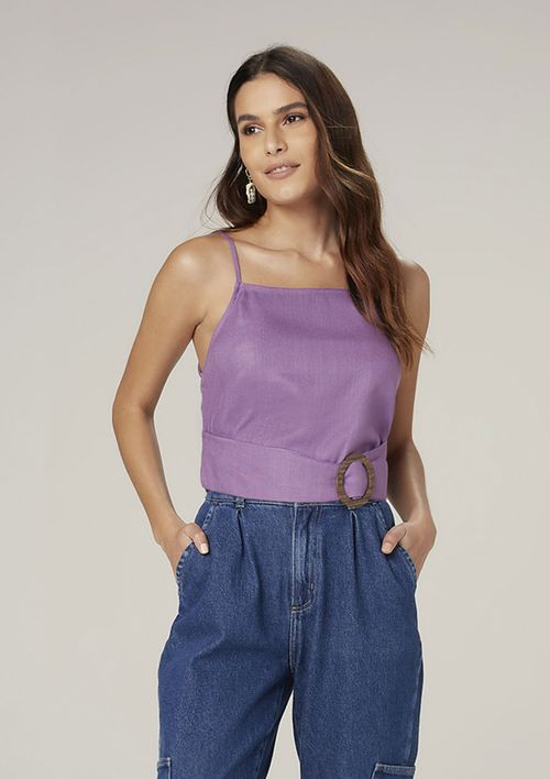 Regata Cropped - Roxo