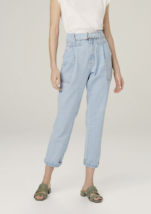 Calça Jeans Clochard Denim - Azul
