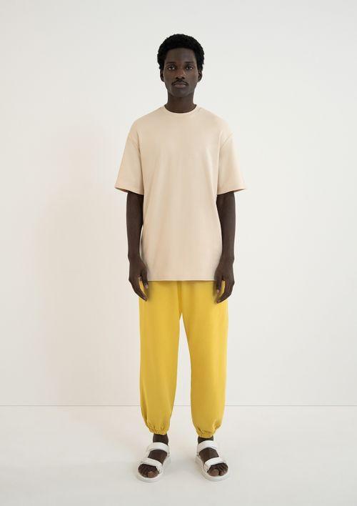 Vestido T-shirt Unissex - Bege