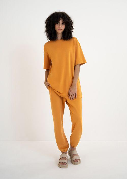 Vestido T-shirt Unissex - Laranja
