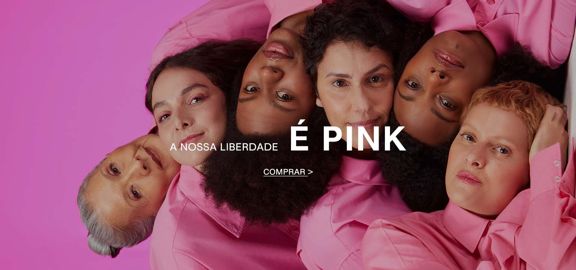 A nossa liberdade é pink